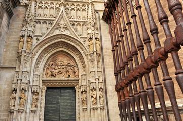 Puerta de Campanillas, catedral de Sevilla
