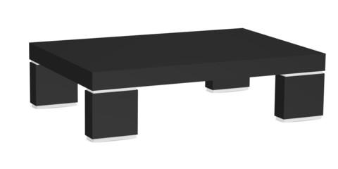 3d render of coffee table