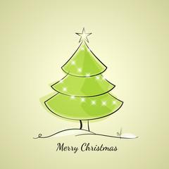 Christmas tree of light chain