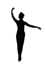 ballerina siluette