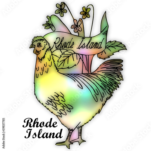 how to draw rhode island state bird
