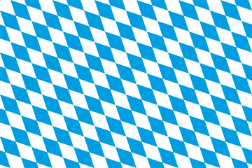 Bayern Rauten nahtlose Kachel Fototapete