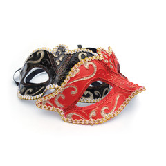 Two masquerade mask