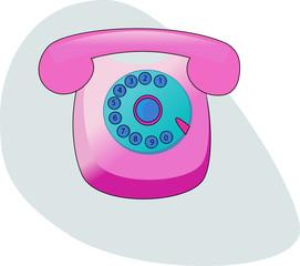 Pink phone