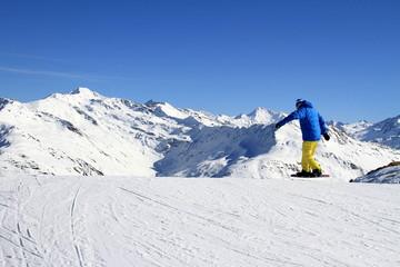 sport d'hiver...klosters suisse