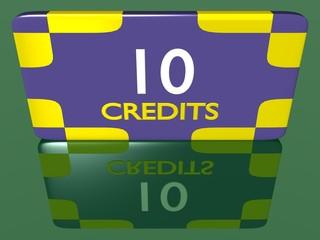 Plaque 10 crédits 1.01