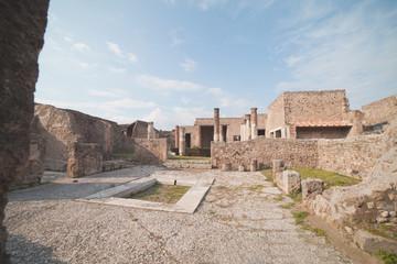 Pompei ruins.
