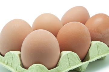 Media docena de huevos
