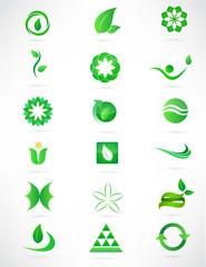 Organic- Logo, Icon, app