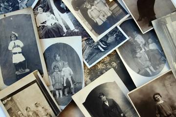 vieilles photos de famille.
