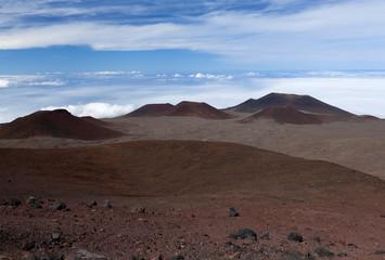 observatories on Mauna kea volcano in hawaii