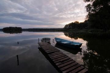 Boat in Poland