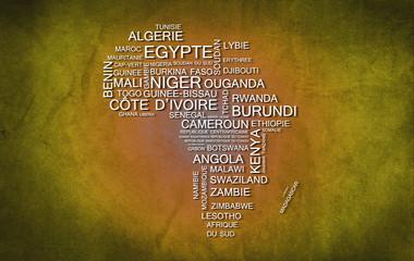 Afrique (Jaune)