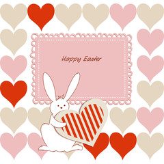 Love Easter card for children