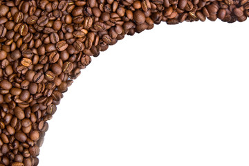 Coffee beabs border 2