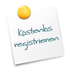 Notizzettel kostenlos registrieren