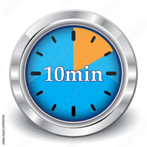 10 minutes clock