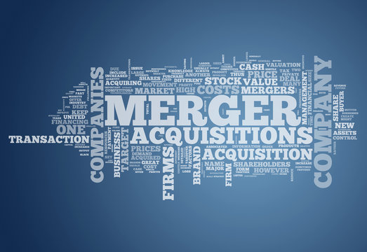 """Word Cloud """"Merger & Acquisitions"""""""