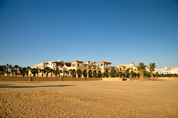 Apartments on the coast (Red Sea)