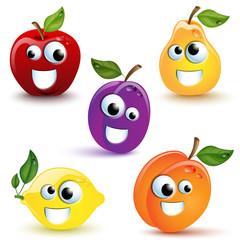 Frutta divertente - Funny Fruits