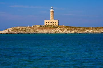 Lighthouse of Vieste, Apulia, Italy.