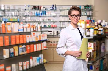 beautiful pharmacist