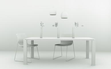 Modell - Esszimmer