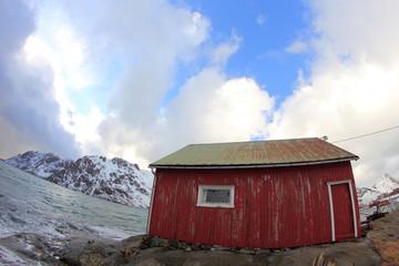 Lofoten's boat house