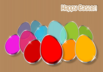 Happy Easter Colorfull