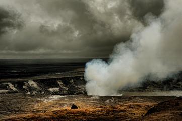 Kilauea Volcano Fototapete