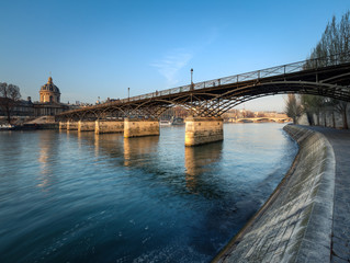 Wall Mural - Paris, France - Pont des Arts - Institut de France