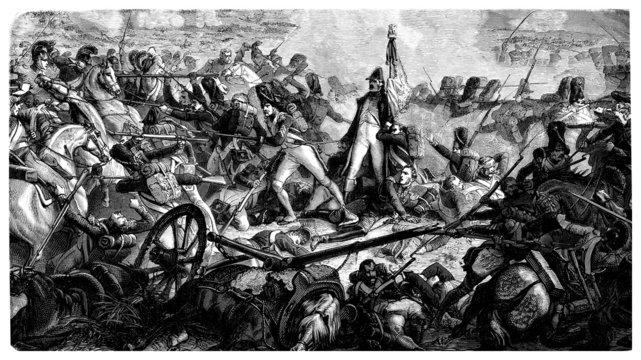 Napoleonian Battle - beginning 19th