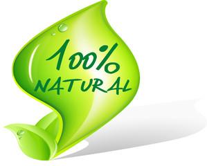 Icona/Simbolo 100% Natural