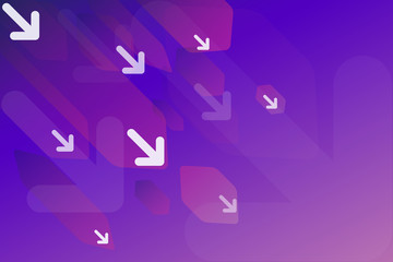 Violet gradient abstract background