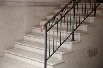 Treppe im Hauseingang