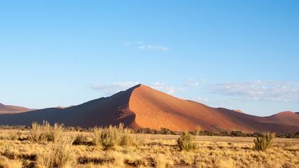 Namibian red sand dunes