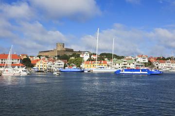 Old coast village