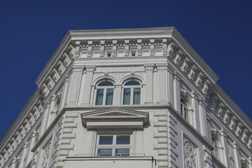 Details eines Jugendstilgebäudes