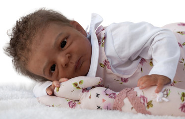 Cute African American Baby