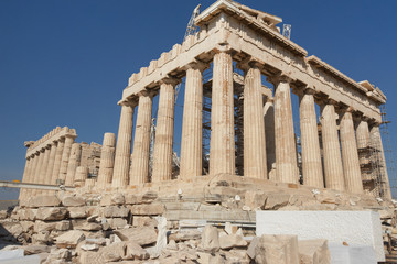 Foto op Canvas Athene Greece, Athens. The ancient Greek temple of the Parthenon