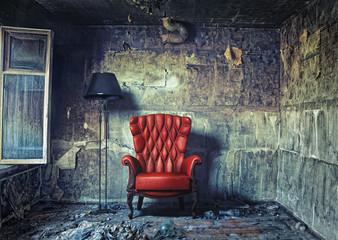 luxure armchair Wall mural