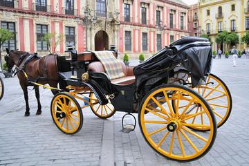 Sevilla turística calesa