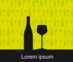 wine vector