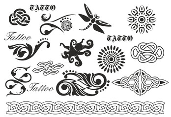 ornament tatto