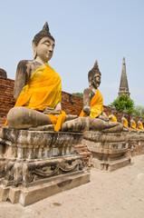 Portrait of a Buddha statue, Thailand