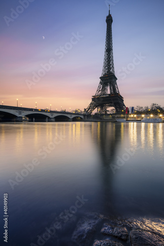 Canvas Prints Tour Eiffel Paris France