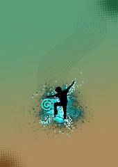 Skate jumping