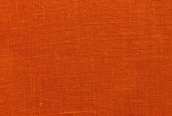 Texture fabric linen red