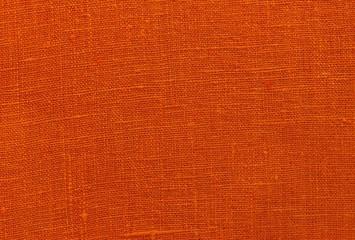 Texture fabric linen red