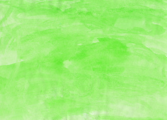 Abstract green watercolor background